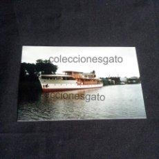 Militaria: FOTOGRAFIA DEL YATE AZOR RECONSTRUIDO - AÑO 1996. Lote 200574838