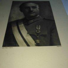 Militaria: DOS RETRATOS ANTIGUOS , FRANCO Y PRIMO DE RIVERA. Lote 200728765