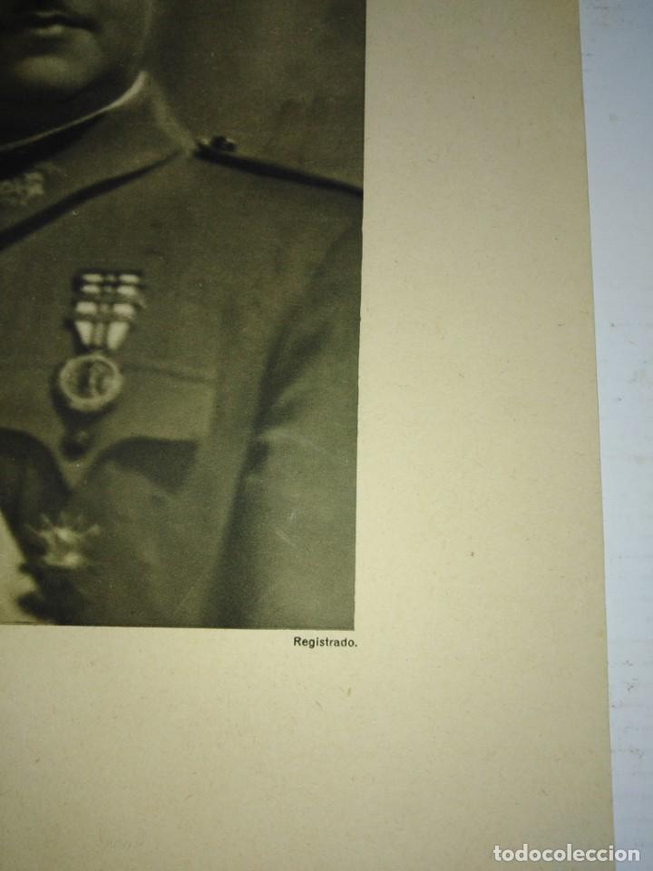 Militaria: DOS RETRATOS ANTIGUOS , FRANCO Y PRIMO DE RIVERA - Foto 2 - 200728765