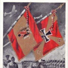 Militaria: ESPAÑA.- 1939- FRANCO PASANDO REVISTA A LA LEGIÓN CÓNDOR RICHTHOFEN GUERRA CIVIL. Lote 200821623