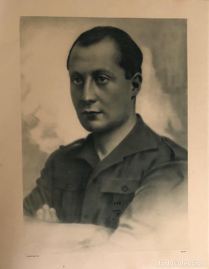 RETRATO OFICIAL JOSÉ ANTONIO PRIMO DE RIVERA. (Militar - Fotografía Militar - Guerra Civil Española)