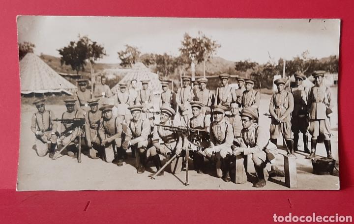 MILITARES, CEUTA O MELILLA. POSTAL FOTOGRÁFICA. (Militar - Fotografía Militar - Guerra Civil Española)