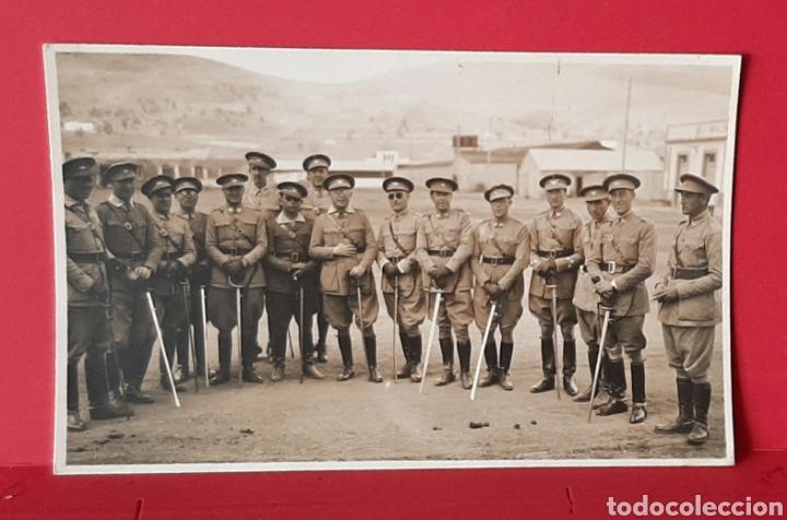 MANDOS MILITARES, CEUTA O MELILLA. POSTAL FOTOGRÁFICA. (Militar - Fotografía Militar - Guerra Civil Española)