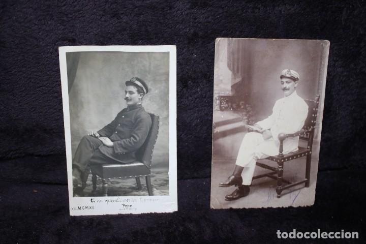 FOTOS MARINERO ESPAÑOL 1912 Y 1916 (Militar - Fotografía Militar - I Guerra Mundial)