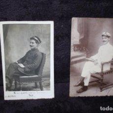 Militaria: FOTOS MARINERO ESPAÑOL 1912 Y 1916. Lote 202488172