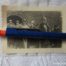 Militaria: FOTOGRAFIA ORIGINAL HITLER Y HINDEMBURG SEGUNDA GUERRA MUNDIAL ALEMANA. Lote 202673441