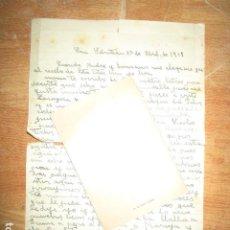 Militaria: II GUERRA MUNDIAL CARTA SOLDADO ESPAÑOL DIVISION AZUL 1942 DESDE SAN SEBASTIAN F LLORET. Lote 110700347