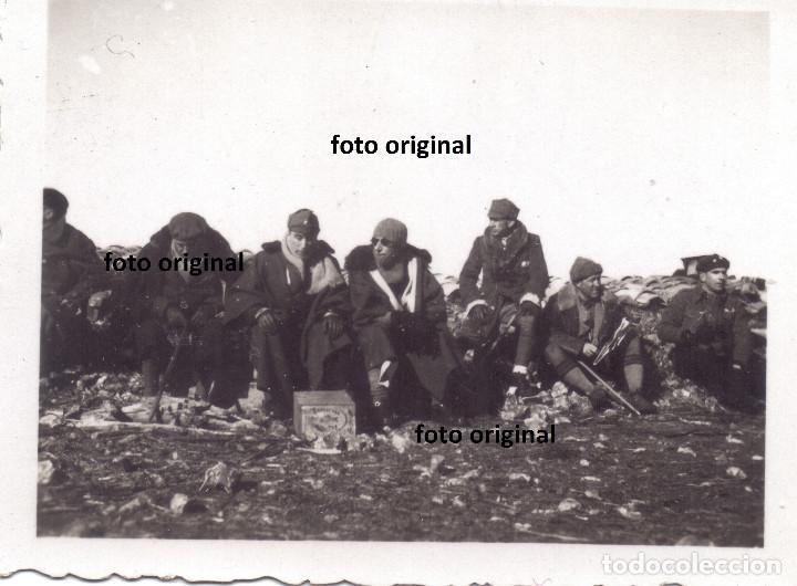 CERCO NACIONAL BATALLA TERUEL FRIO INTENSO LEGION CONDOR GUERRA CIVIL 1938 (Militar - Fotografía Militar - Guerra Civil Española)