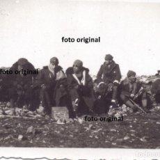 Militaria: CERCO NACIONAL BATALLA TERUEL FRIO INTENSO LEGION CONDOR GUERRA CIVIL 1938. Lote 202966295