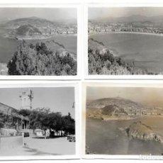 Militaria: 1938CA (4) FOTOGRAFÍAS SAN SEBASTIÁN DESDE IGUELDO. GUERRA CIVIL. SACADA POR SOLDADO LEGIÓN CÓNDOR. Lote 202984850