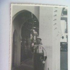 Militaria: GUERRA CIVIL - PROTECTORADO: FOTO DE GUARDIA MORA DEL JALIFA, MEDALLA DE LA MEHDAUIA. 12 X17 CM. Lote 203190697