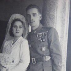 Militaria: FOTOGRAFÍA TENIENTE PROVISIONAL DEL EJÉRCITO ESPAÑOL. 1941. Lote 203402450