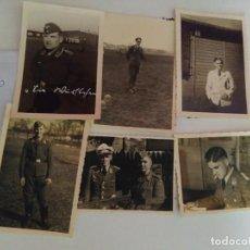 Militaria: 6 FOTOGRAFÍAS DE LA WEHRMACHT ORIGINALES 100% 2WW REF01850. Lote 203778382