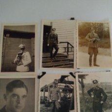 Militaria: 6 FOTOGRAFÍAS DE LA WEHRMACHT ORIGINALES 100% 2WW REF01648. Lote 203780796