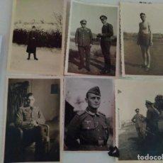 Militaria: 6 FOTOGRAFÍAS DE LA WEHRMACHT ORIGINALES 100% 2WW REF01647. Lote 203781205