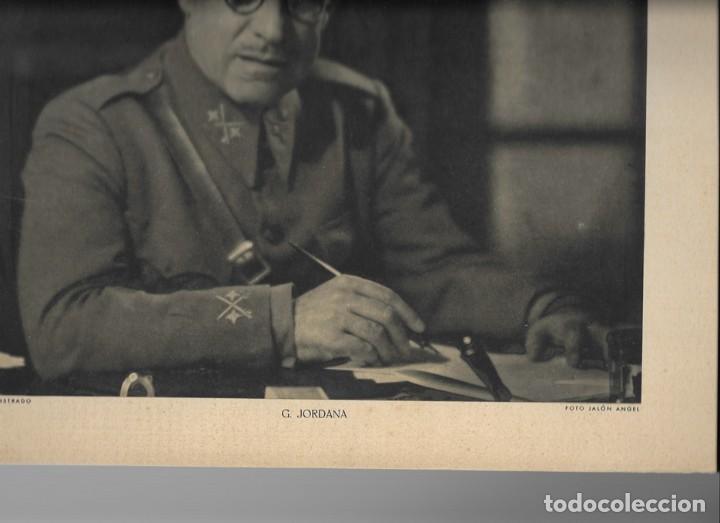 Militaria: FOTOGRAFIA GENERAL Francisco Gómez-Jordana Sousa (FOTO: JALÓN ÁNGEL) - Foto 2 - 203878971