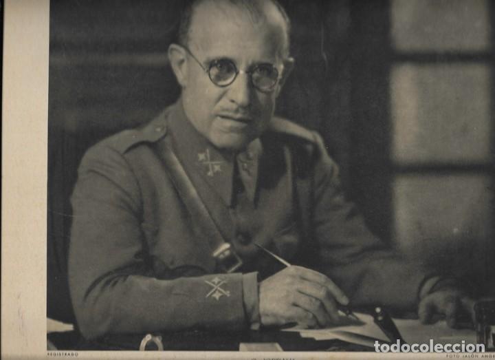 FOTOGRAFIA GENERAL FRANCISCO GÓMEZ-JORDANA SOUSA (FOTO: JALÓN ÁNGEL) (Militar - Fotografía Militar - Guerra Civil Española)