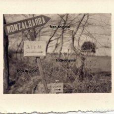 Militaria: MONZALBARBA (ZARAGOZA) CENTRO TRANSMISIONES LEGION CONDOR FRENTE ARAGON GUERRA CIVIL. Lote 203915375