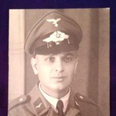 Militaria: ANTIGUA FOTOGRAFIA SOLDADO ALEMAN, LUTFWAFFE, EPOCA III REICH. Lote 203917233