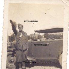 Militaria: SOLDADO CTV ITALIANO SALUDO FASCISTA GUERRA CIVIL ESPAÑOLA. Lote 204065846