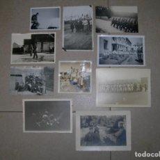 Militaria: LOTE 10 FOTOS SOLDADOS ALEMANES WEHRMACHT II GUERRA MUNDIAL (025). Lote 204189396