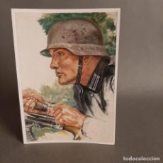 Militaria: ALEMANIA III REICH. SEGUNDA GUERRA MUNDIAL. POSTAL DE WILLRICH. PANZER PIONIER.. Lote 204195647