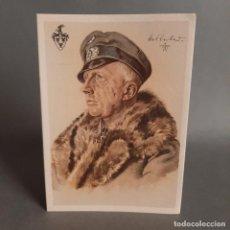 Militaria: ALEMANIA III REICH. SEGUNDA GUERRA MUNDIAL. POSTAL DE WILLRICH. MAJOR ROCHOW.. Lote 204196117