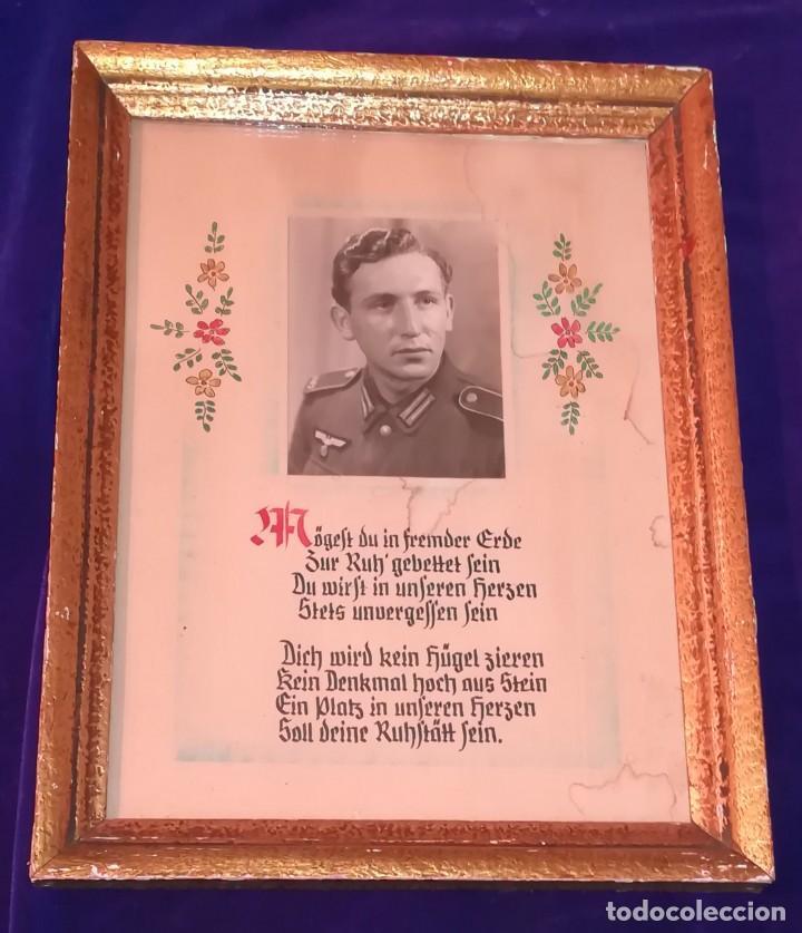FOTOGRAFIA SOLDADO ALEMAN CAIDO, EPOCA 2ª GUERRA MUNDIAL (Militar - Fotografía Militar - II Guerra Mundial)