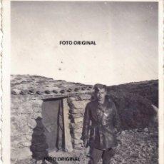 Militaria: OFICIAL FRECCE NERE MAESTRAZGO TERUEL O CASTELLON BATALLA LEVANTE GUERRA CIVIL 1938. Lote 204433766