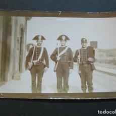 Militaria: MILITARES ITALIANOS -FOTOGRAFIA ANTIGUA MILITAR-VER FOTOS-(70.319). Lote 205045763