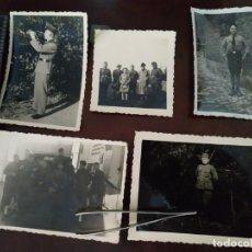 Militaria: 5 FOTOGRAFÍAS NAZIS. SEGUNDA GUERRA MUNDIAL. Lote 205090328