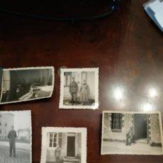 Militaria: 5 FOTOGRAFÍAS NAZIS. SEGUNDA GUERRA MUNDIAL. Lote 205091955