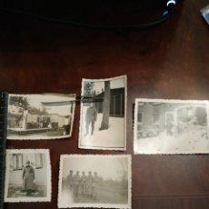 Militaria: 5 FOTOGRAFÍAS NAZIS. SEGUNDA GUERRA MUNDIAL. Lote 205092818