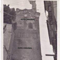 Militaria: LA TORRE MUDEJAR DE SAN PEDRO TERUEL TRAS LA ENTRADA LEGION CONDOR 1938 GUERRA CIVIL. Lote 205144448