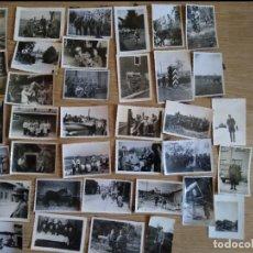 Militaria: LOTE DE 36 FOTOGRAFIAS DE LA WEHRMACHT ORIGINALES 100% 2WW. Lote 205254915