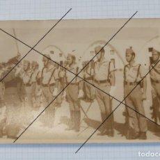 Militaria: FOTO TAMAÑO POSTAL DE LEGIONARIOS, 14 C 9 CM. Lote 205272760