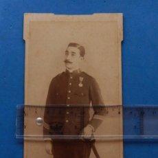 Militaria: ES. FOTOGRAFÍA MILITAR. SARGENTO. CEUTA. 1901.. Lote 205437667