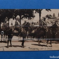 Militaria: FOTOGRAFÍA MILITAR. GENERALES. TARRAGONA. 1919.. Lote 205467371