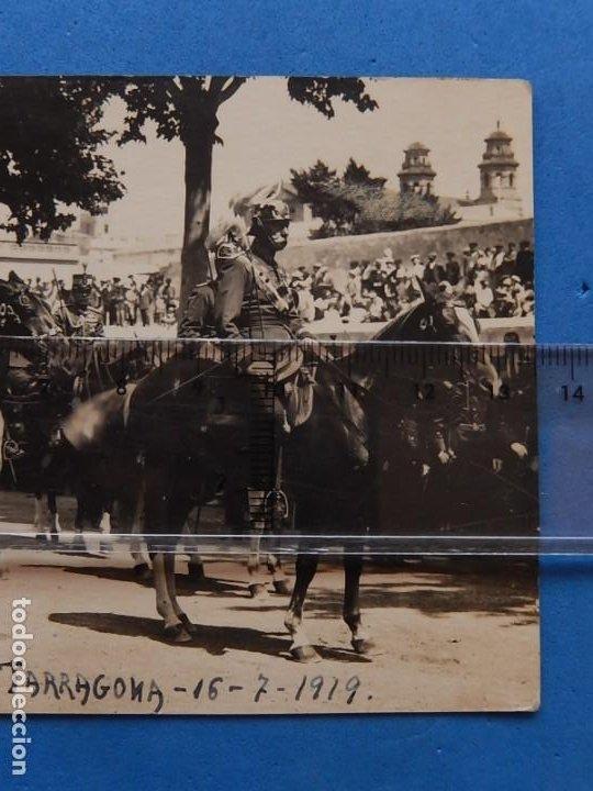Militaria: ES. Fotografía militar. Generales. Tarragona. 1919. - Foto 3 - 205467371