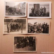 Militaria: LOTE DE FOTOGRAFIAS MILITARES ALEMANES, EPOCA III REICH. Lote 205468568