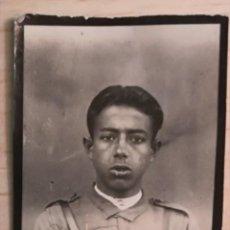 Militaria: FOTOGRAFIA JOVEN FALANGISTA, EPOCA GUERRA CIVIL ESPAÑOLA. Lote 205474847