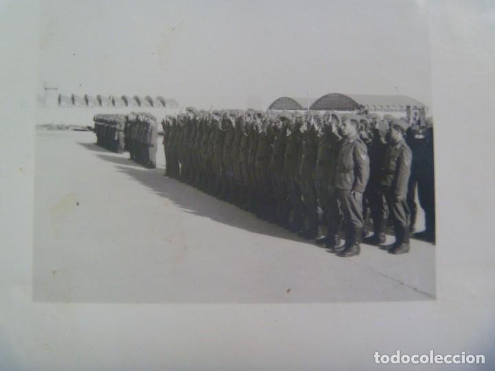 Militaria: DIVISION AZUL : LOTE DE 4 FOTOS DE MILITARES DE AVIACION, ESCUADRILLA AZUL. UNIFORME ESPAÑOL Y JURA - Foto 5 - 205525890