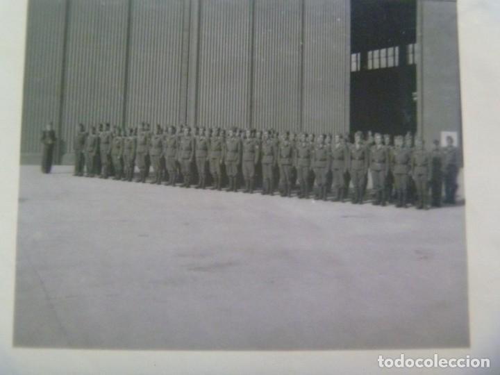 Militaria: DIVISION AZUL : LOTE DE 4 FOTOS DE MILITARES DE AVIACION, ESCUADRILLA AZUL. UNIFORME ESPAÑOL Y JURA - Foto 7 - 205525890