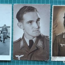 Militaria: LOTE 8 FOTOS DE MILITARES - ALEMANIA TERCER REICH. Lote 205565092