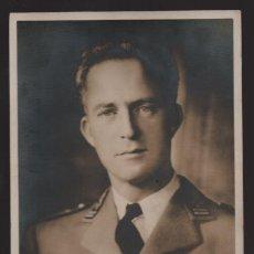 Militaria: FOTO DE S.M. LEOPOLD III. OFRECIDA A LOS PRISIONEROS DE GUERRA BELGAS.- VER FOTOS. Lote 205681996