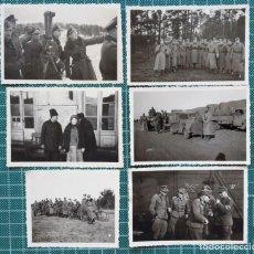Militaria: LOTE DE 11 FOTOS - UCRANIA 1943 - ALEMANIA TERCER REICH. Lote 205685245