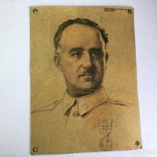 Militaria: ANTIGUO RETRATO DE FRANCISCO FRANCO DE JUAN RAPSOMANIKIS. Lote 205727636
