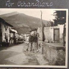 Militaria: OCHANDIANO VIZCAYA 1937 GUERRA CIVIL FOTOGRAFIA POR SOLDADO ALEMAN LEGION CONDOR 6 X 9 CMTS. Lote 205797960