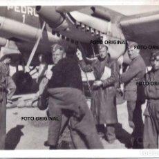 Militaria: TRIPULACION ALEMANA HE-111 PEDRO 1 LEGION CONDOR GUERRA CIVIL. Lote 205857181