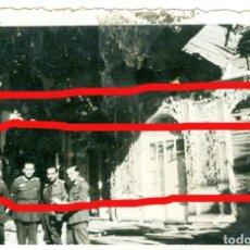 Militaria: DIVISION AZUL. ANTIGUA FOTO 9 X 6 CM LEER BIEN LA DESCRIPCION. Lote 206248057